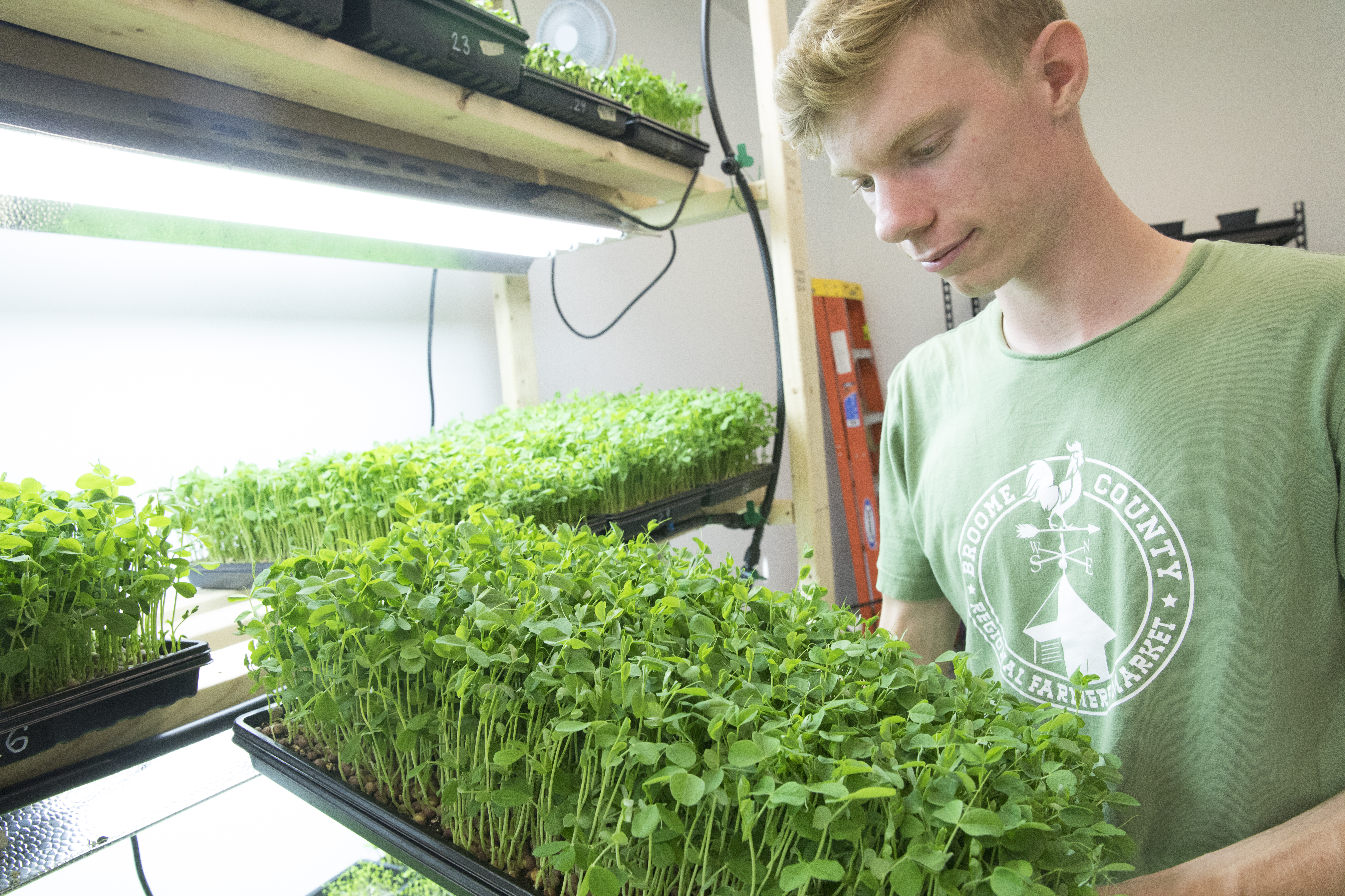 Infiniti Greens founder selected for national competition