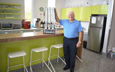Master Inventor Serves up Convenience with Latest Invention