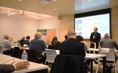 Clean Energy Pitch Attracts Local Investors