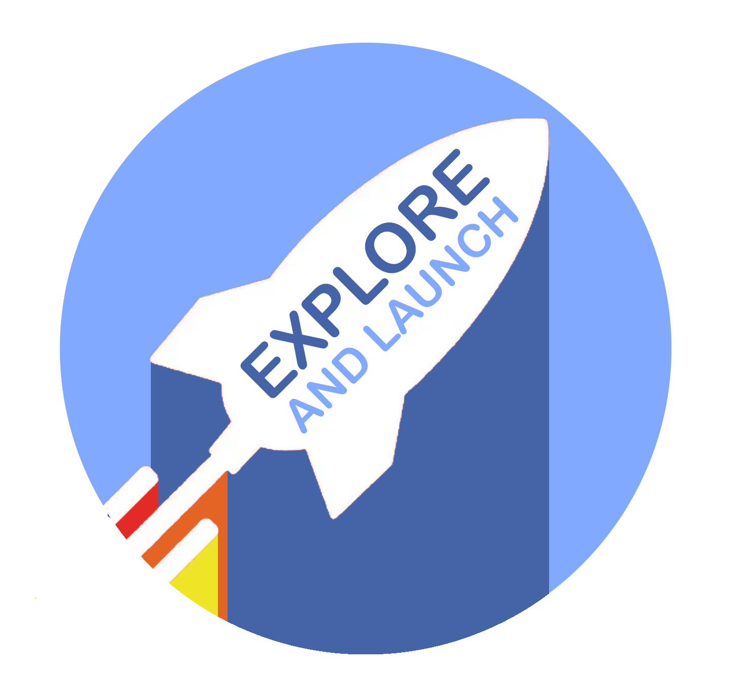 Explore and Launch Logo