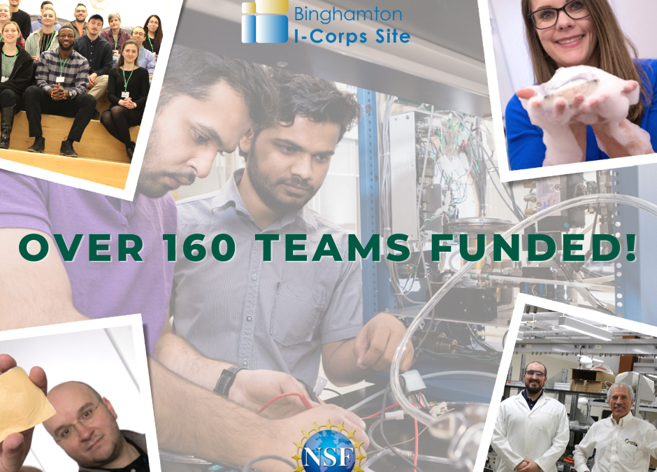 I-Corps program supports over 160 entrepreneurs in discovering their true customer