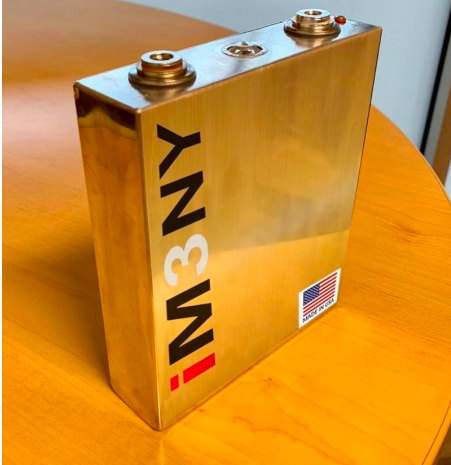 IM3NY produces first Li-ion dry battery cells in Endicott, NY plant