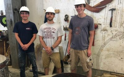 Turning bottles into buildings: student startup uses glass to make sustainable cement