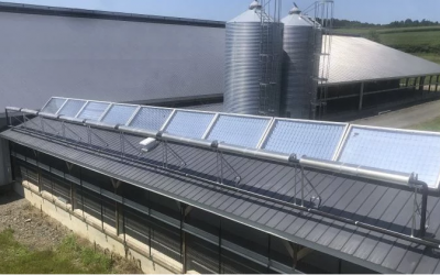 Skyven Displaces Fossil Fuels with Solar Concentration Tech