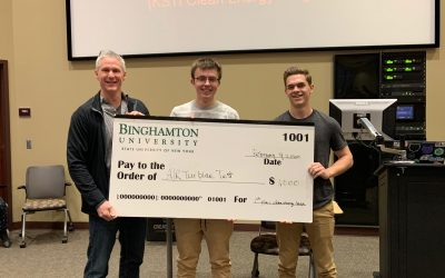 Clean Energy Incubator Supports Student Hackers