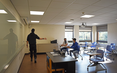 B-Innovative space designated for student startups