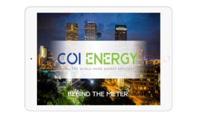 COI Energy to digitize energy management in healthcare facilities and businesses