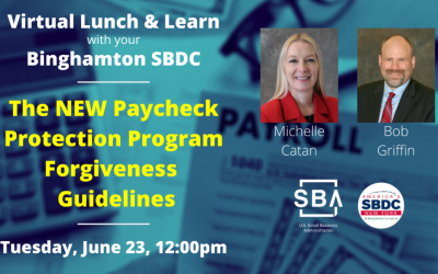 [Video] SBDC Support local businesses through their webinar series