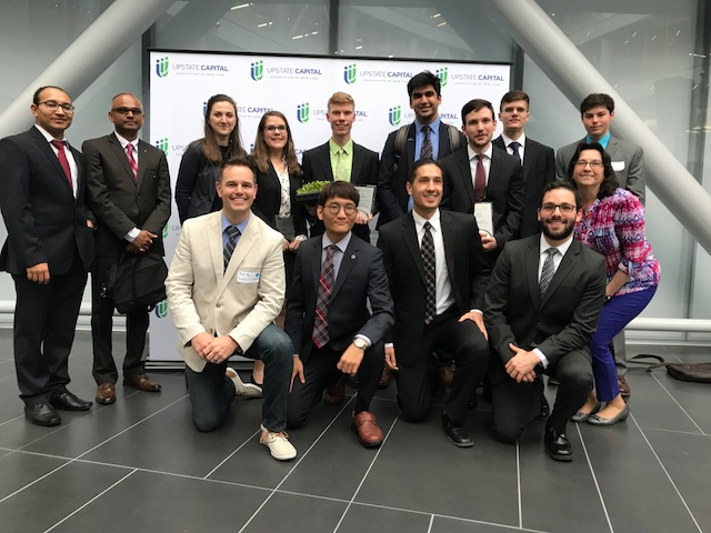 Three Binghamton teams earn awards at NYS Business Plan Competition